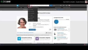 Das Profil in LinkedIn - Tutorial